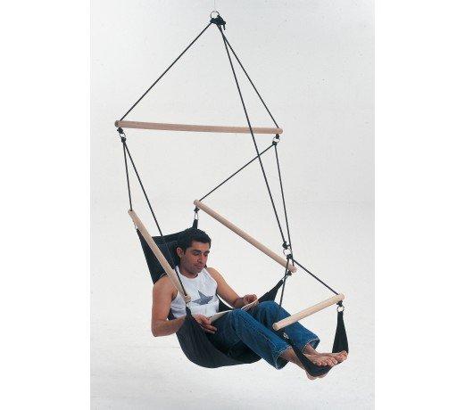 Hamac Fauteuil Suspendu : fauteuil suspendu design swinger noir amazonas ~ Teatrodelosmanantiales.com Idées de Décoration