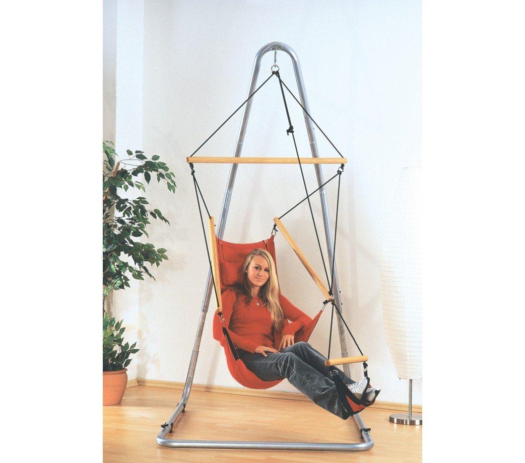 fauteuil suspendu design swinger rouge amazonas. Black Bedroom Furniture Sets. Home Design Ideas