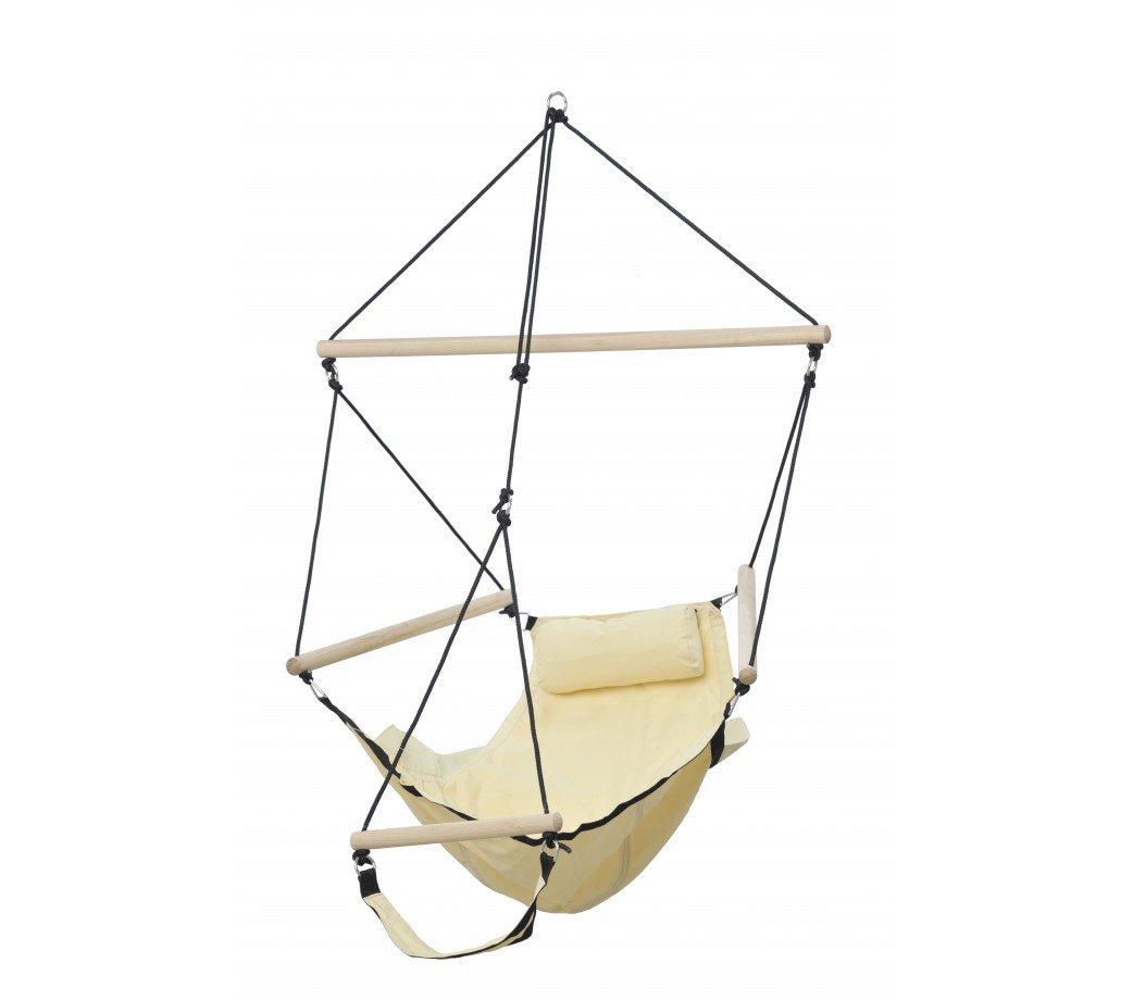 fauteuil suspendu design swinger sable - amazonas