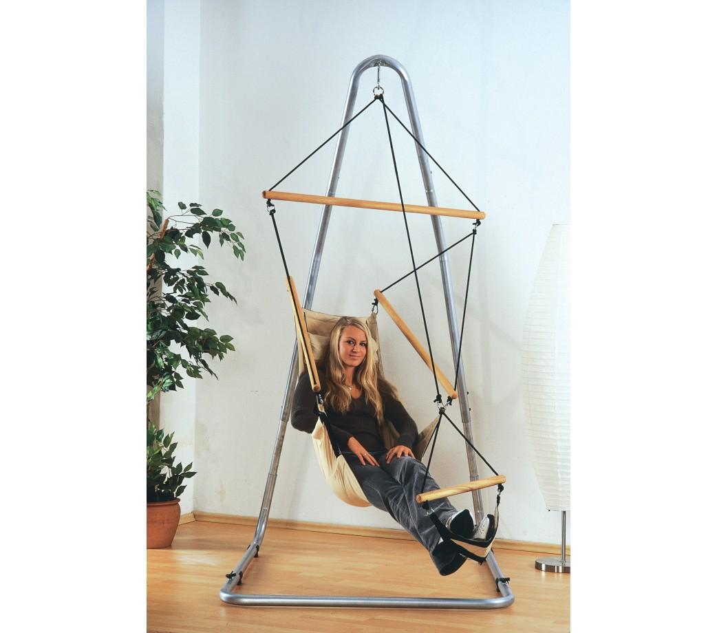 fauteuil suspendu design swinger sable amazonas. Black Bedroom Furniture Sets. Home Design Ideas