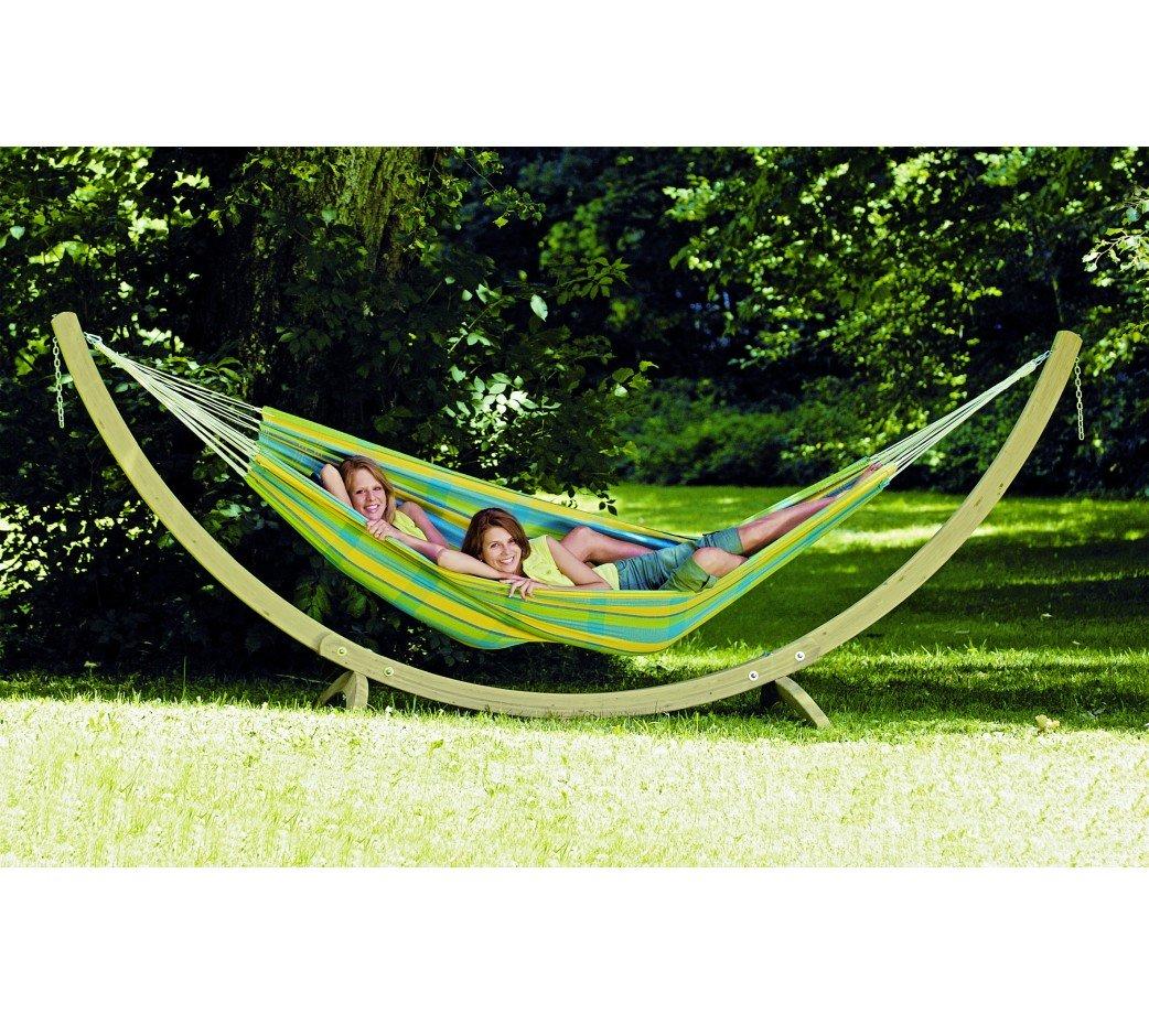 support de hamac familial bois troja 340 420 cm amazonas. Black Bedroom Furniture Sets. Home Design Ideas
