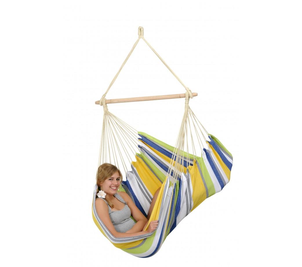 hamac chaise br silien basique relax kolibri amazonas. Black Bedroom Furniture Sets. Home Design Ideas
