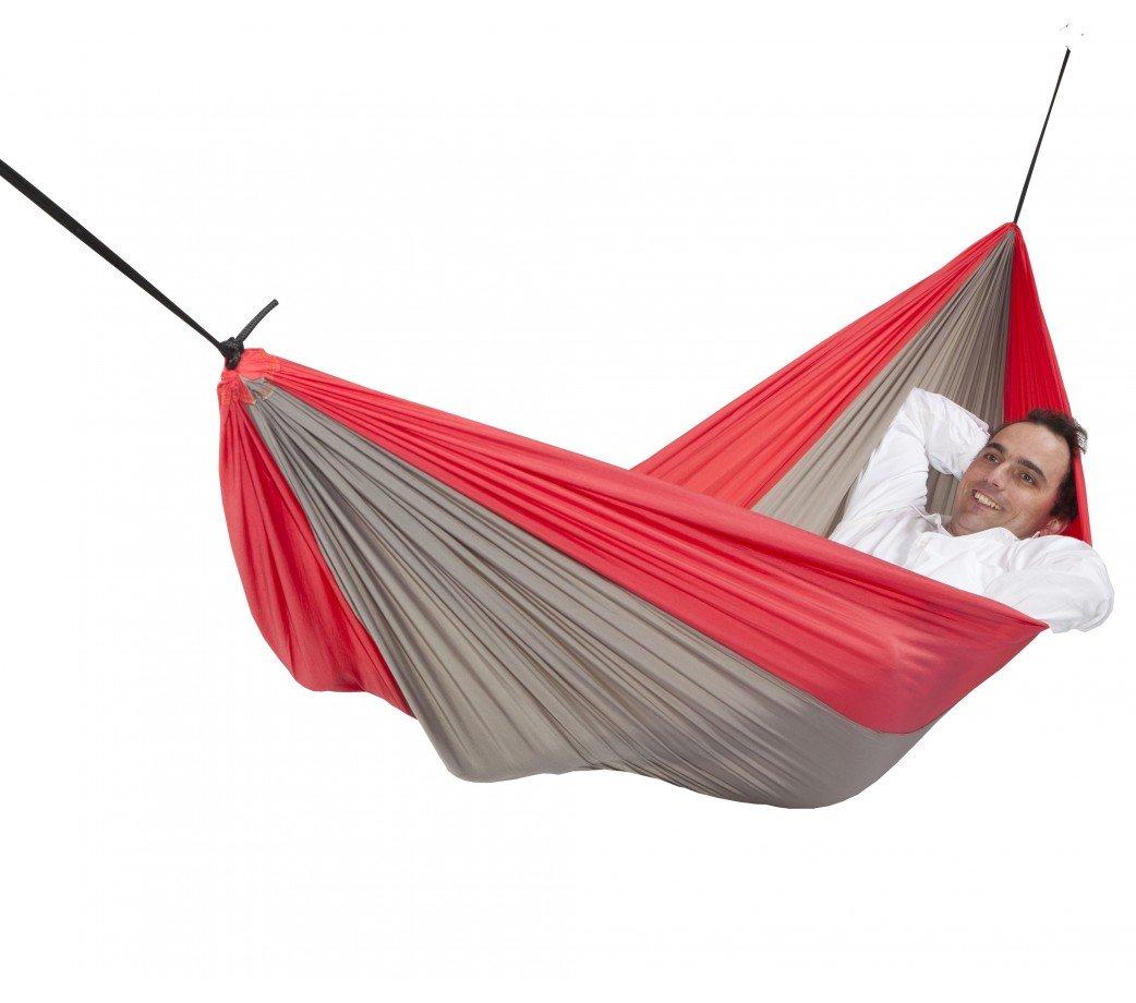 hamac de voyage double skyfall red escuderos. Black Bedroom Furniture Sets. Home Design Ideas