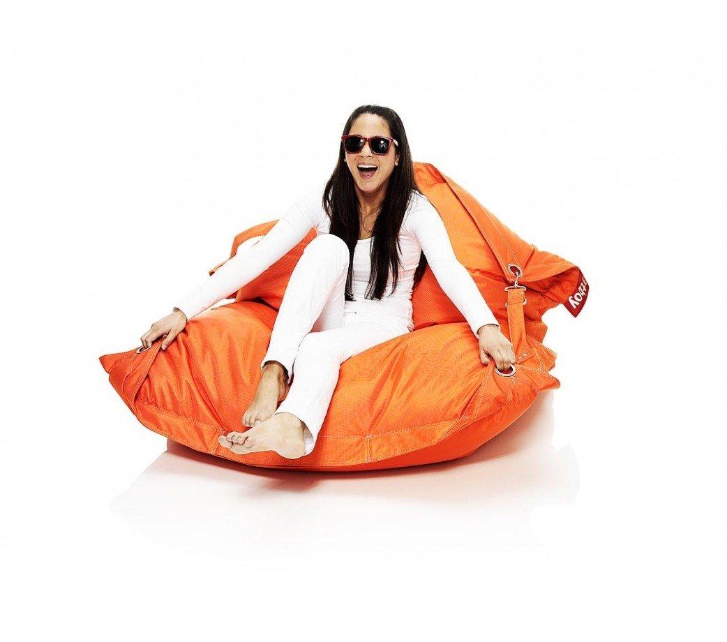 pouf buggle up orange fatboy. Black Bedroom Furniture Sets. Home Design Ideas