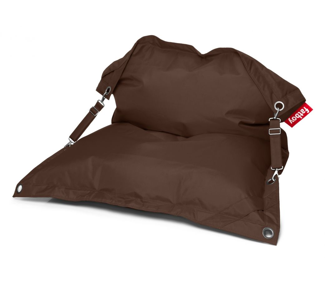 pouf d 39 exterieur fatboy buggle up marron. Black Bedroom Furniture Sets. Home Design Ideas